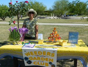 Pattie at Arbor Day